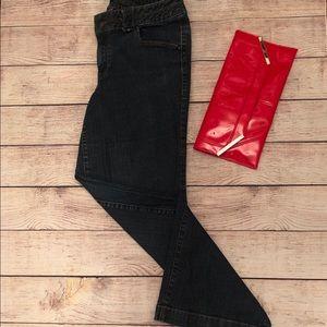 Lane Bryant Wide Leg Blue Jeans
